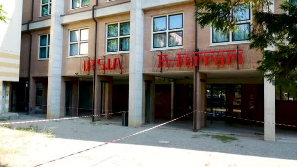 Maranello, Itálie, Alfredo Ferrari Mechanic Institute hlavní vchod