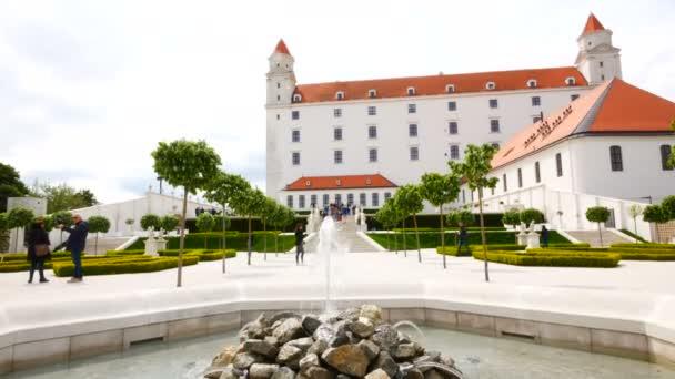 Bratislava, Slovensko, kašna barokních zahrad