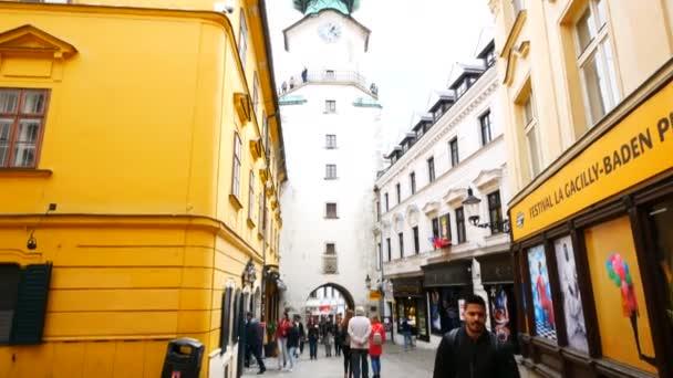 Bratislava, Slovensko, pohled na bránu sv. Michala