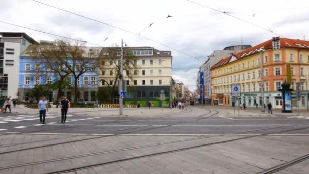Bratislava, Slovensko, pohled na ulici