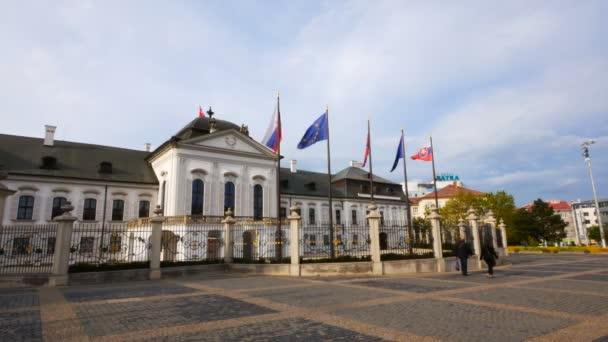 Bratislava, Slovensko, prezidentský Grassalkovichův palác