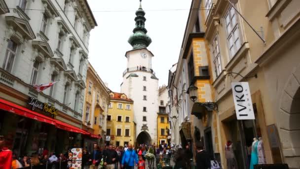 Bratislava, Slowakei, Blick auf das St. Michael-Tor