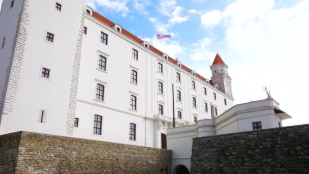 Bratislava, Slovensko, pohled na Bratislavský hrad