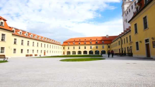 Bratislava, Slovensko, nádvoří Bratislavského hradu
