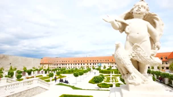 Bratislava, Slovensko, část barokní zahrady zámku