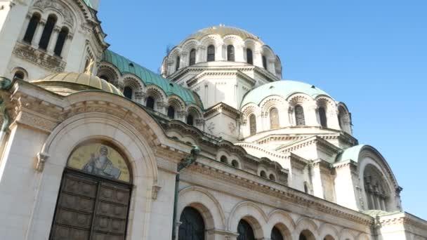 Sofia, Bulgaria, details of the Cathedral Saint Aleksandar Nevski