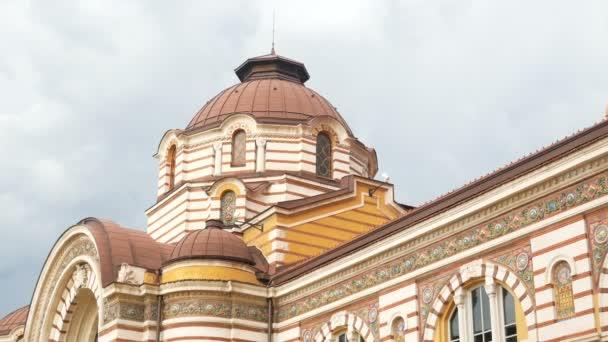 Sofia, Bulgaria, details of the Central Market building
