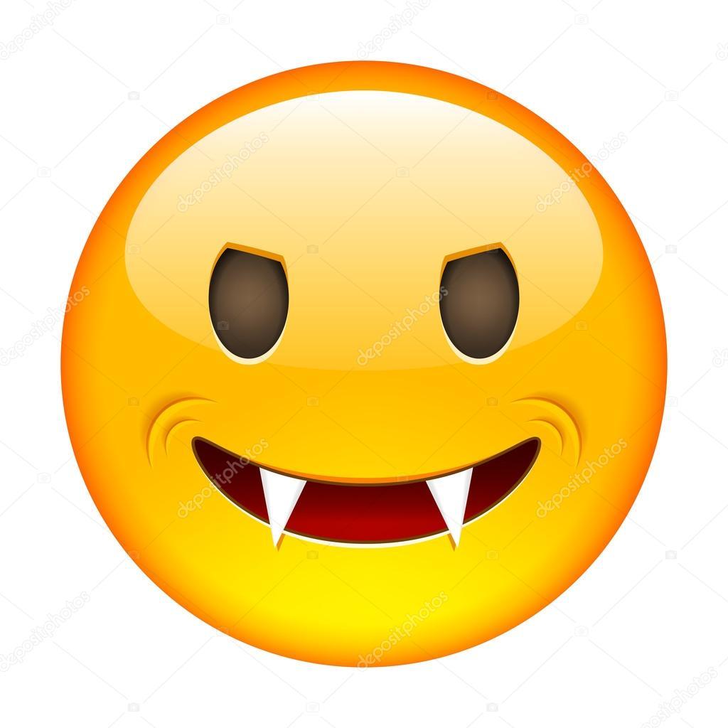 Depositphotos Stock Illustration Excited Emoticon Smile Icon Happy Smiley
