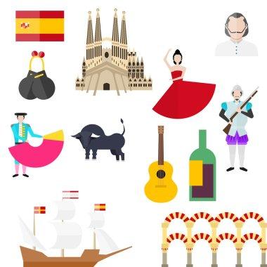 Spanish symbols, signs and landmarks