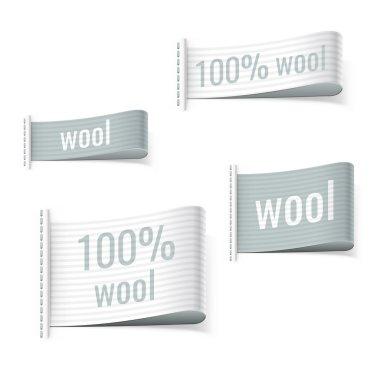 100 percent wool product