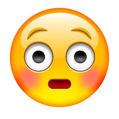 Yellow Suprise Emoticon