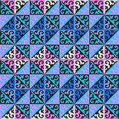 Fotografie Kasachische nationale Muster und Ornamente