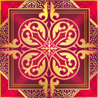 Ornament, oriental style