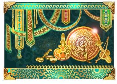 Dastarkhan, Kazakh Still, Kazakh epic