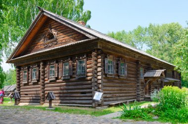House of Serov in museum of wooden architecture, Kostroma, Russia