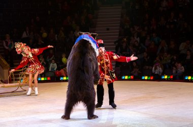 Moscow Circus on Ice on tour