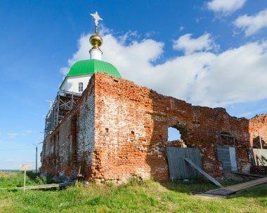 Holy Trinity Church in village Karacharovo near Murom