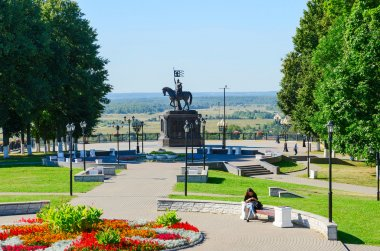 Monument to Prince Vladimir and holy hierarch Feodor, Vladimir, Russia