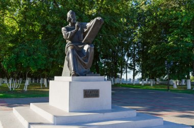 Monument to Andrei Rublev, Vladimir, Russia