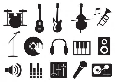 Music Instrument and Tools Icons