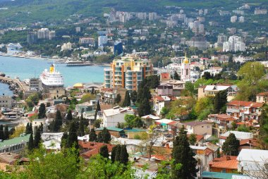 View of the city Yalta