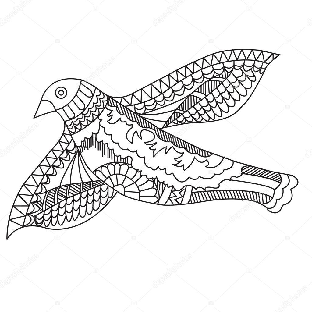Kleurplaten Vliegende Vogels.Hoe Teken Je Een Vliegende Vogel Dejachthoorn