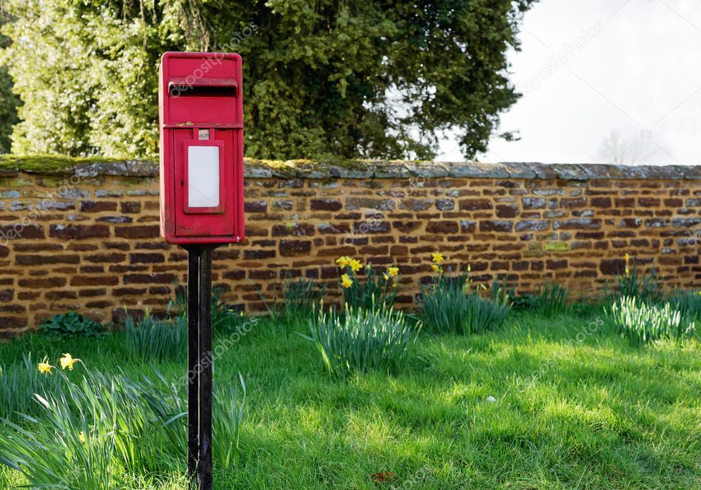 Traditioneller Englischer Briefkasten Stockfoto Aenyeth 103961652