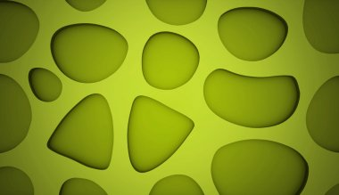 Cell mesh background green stock vector
