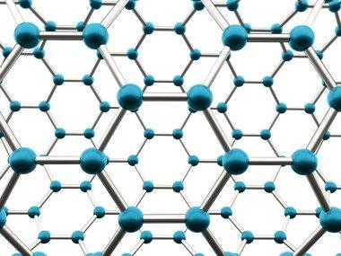 Molecular mesh tube structure