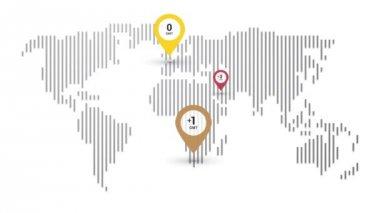 världstider karta viktigaste forex aktiemarknaden världstider pågår i realtid zoner  världstider karta