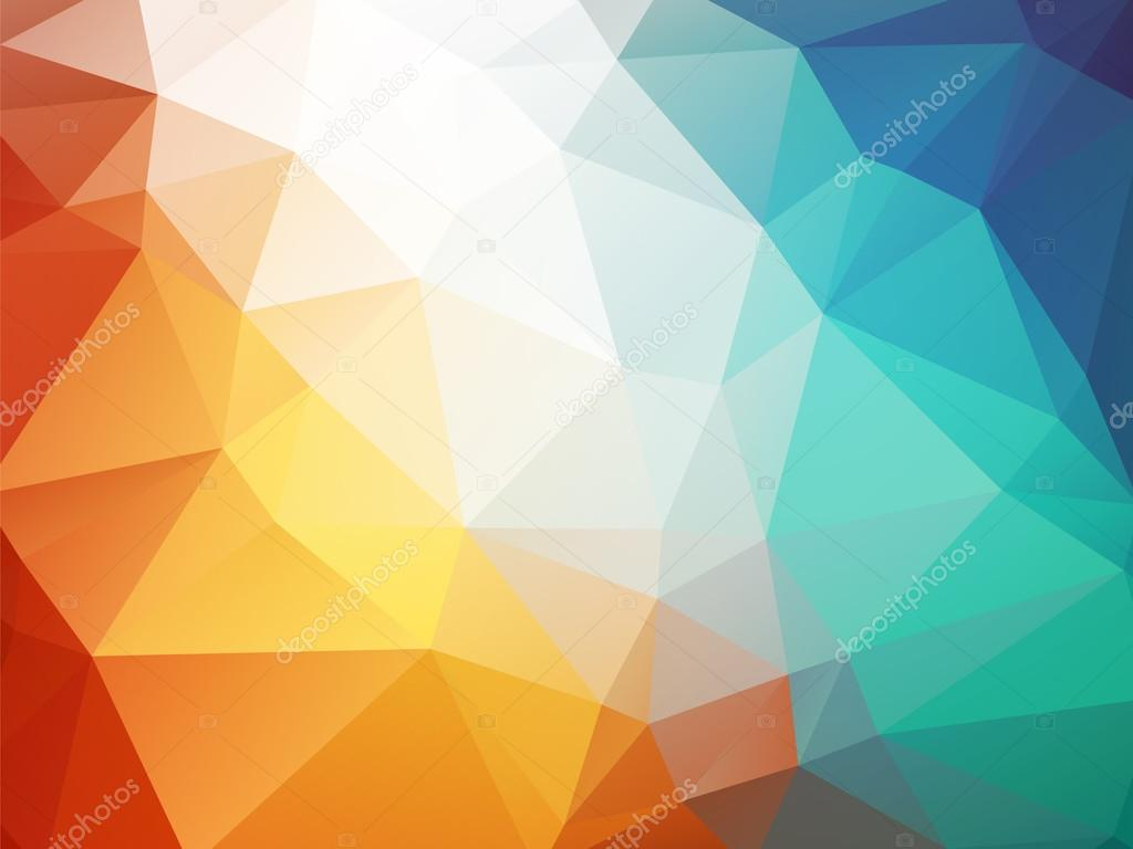 Orange blue polygon background ice fire stock vector mimacz orange blue polygon background ice fire stock vector altavistaventures Images