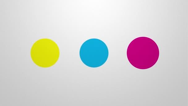 Subtraktivní míchání v barevném prostoru Cmyk