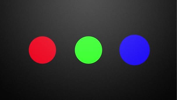 Aditivní míchání v barevném prostoru Rgb barev