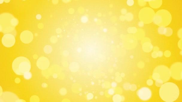 absztrakt sárga háttér egy repülő körök