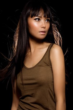 Asian Fashion Model