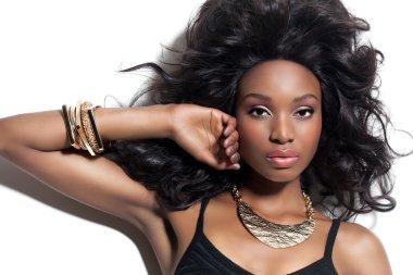 bBeautiful African Woman