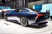 Geneva, Switzerland - March 1, 2016: 2016 Lexus LF-FC Concept presented on the 86th Geneva Motor Show in the PalExpo