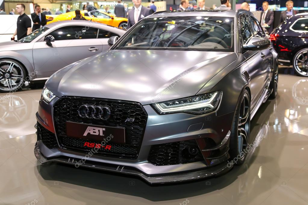 2015 abt sportsline audi rs6 r redaktionelles stockfoto. Black Bedroom Furniture Sets. Home Design Ideas
