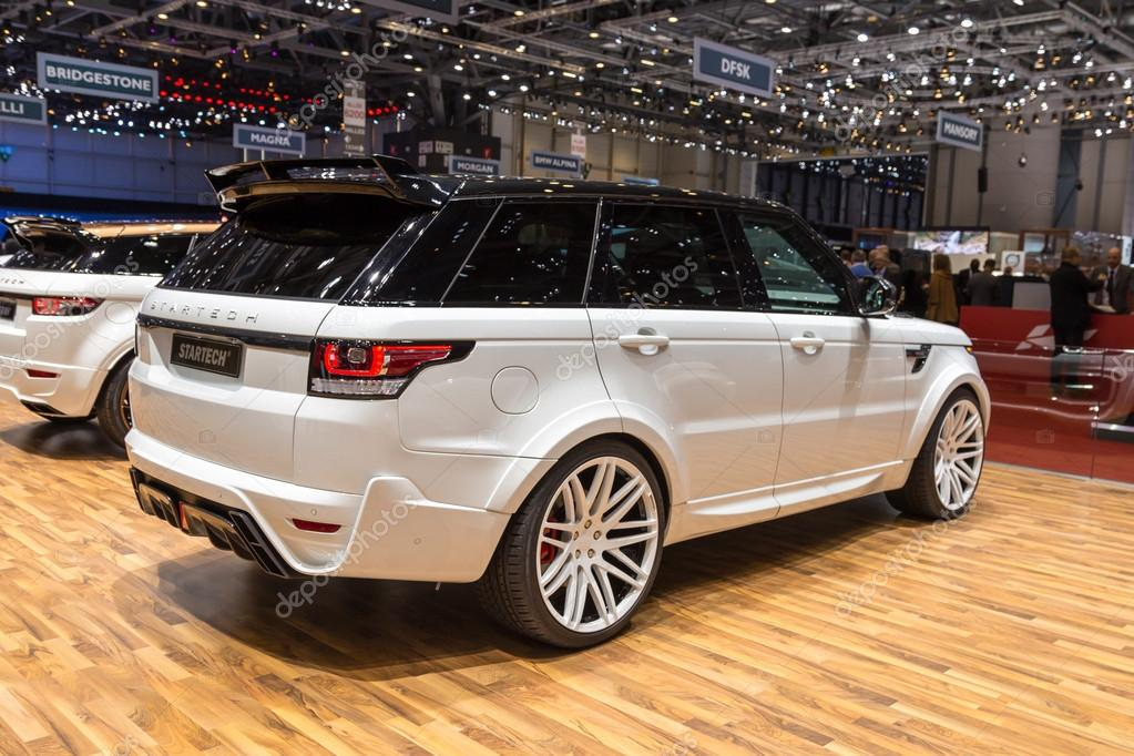 2015 Startech Range Rover Sport Stock Editorial Photo C Zavatskiy
