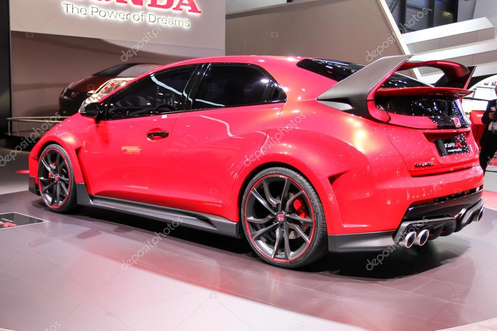 2014 Honda Civic Type R Concept Stock Editorial Photo Zavatskiy