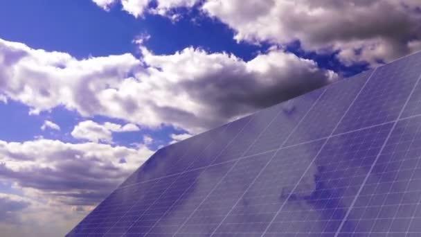 Solární panely Timelapse