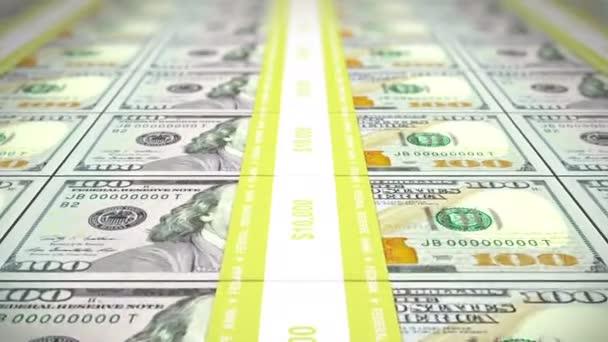 New 100 USD stacks, loop, DOF