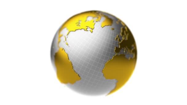 Zlatá stříbrná země rotace, smyčky, Dof