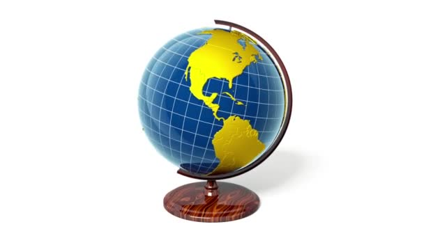 Golden globe, zoom to Africa