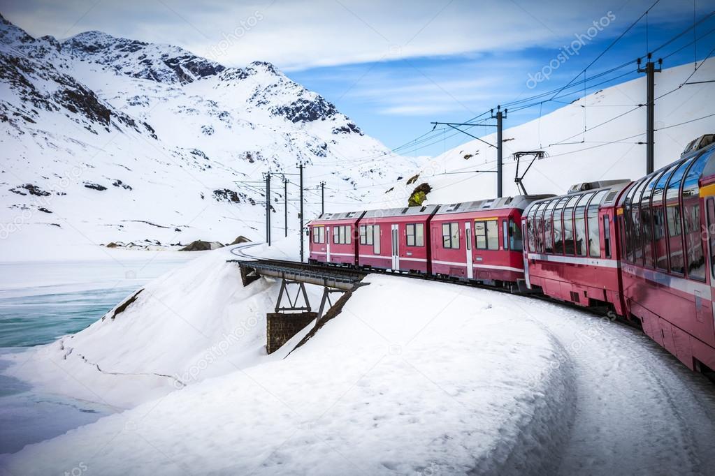 Bernina Express, railway between Italy and Switzerland