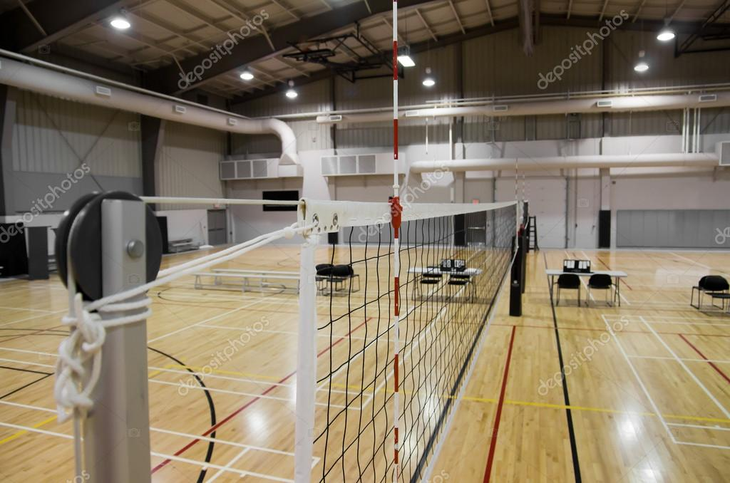 Indoor Volleyball Court — Stock Photo © DriftingLight #60229829