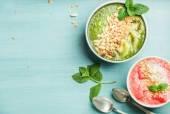Fotografie Healthy summer breakfast concept