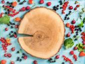 Fotografie Healthy summer garden berry variety