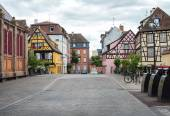 Fotografie Colorful timbered traditional french houses