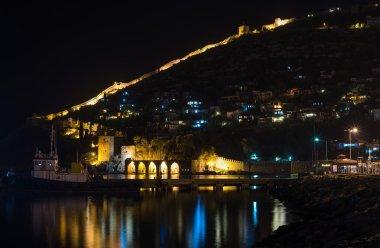 fortress and ancient shipyard in Alanya